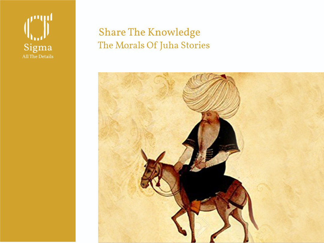 The Morals Of Juha's Stories.